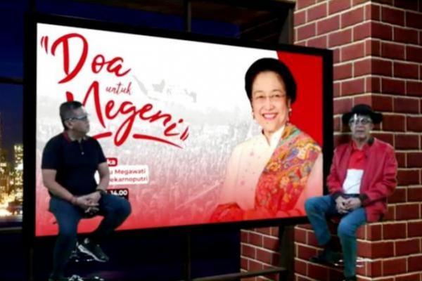 Perayaan Ultah ke-74 Megawati Soekarnoputri, dipandu Sekjen PDIP Hasto Kristiyanto dan Menkumham Yasonna Laoly