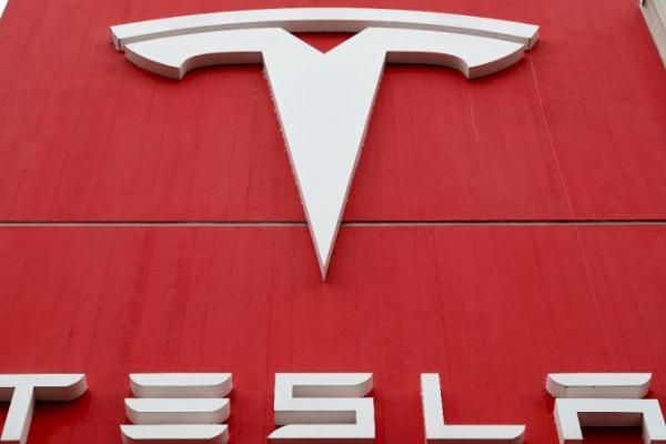 Logo pabrikan Tesla