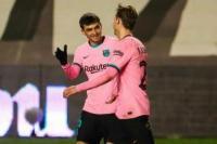Menang Tipis, Barcelona Pastikan Tiket Perempat Final Copa del Rey