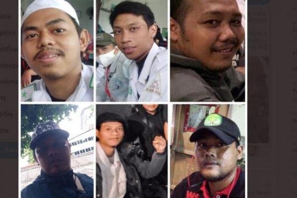 Enam laskar FPI yang di tembak mati di KM 50 tol Jagorawi