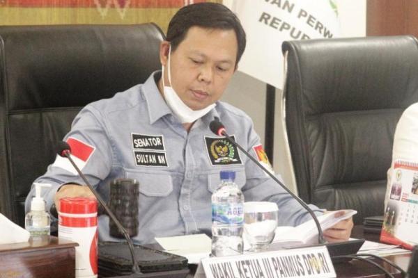 Wakil Ketua DPD RI Sultan B Najamudin.