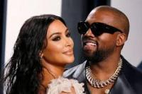 Pasangan selebritis Kim Kardhasian dan Kanye West