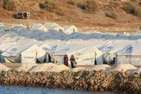 Diduga Ada kelainan Mental, Wanita Hamil Nekat Bakar Dirinya di Kamp Pengungsian