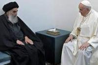 Paus Bertemu Dengan Ulama Syiah Irak Sistani