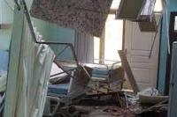 Salah satu kerusakan akibat gempa di Kabupaten Malang dan sekitarnya pada Sabtu, 10 April 2021 (foto: BNPB )