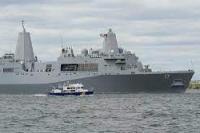 Ilustrasi kapal perang AS di Laut hitam (foto: Anadolu Agency)