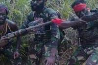 Ilustrasi: Kelompok Teroris di Papua. (foto : FB TNPNB)