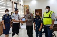 KSOP Jaya Pura dan Polda Papua Sinergi Sukseskan Tol Laut