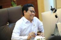 Hadiri Rakor Secara Virtual, Gus Menteri Laporkan Langkah Kemendes PDTT Laksanakan PPKM Mikro