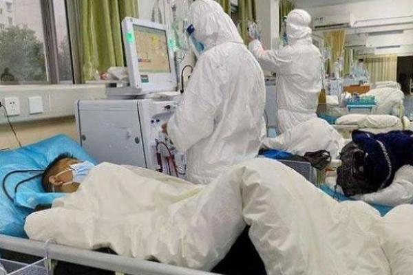 Foto ilustrasi pasien corona.