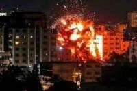 Aksi zionis Israel kembali melakukan serangan ke wilayah Jalur Gaza (foto:moeslimchoice.com)