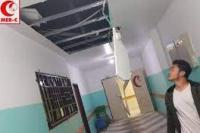 RS Indonesia yang berada di Gaza rusak akibat serangan militer Israel. (Foto: Dok MER-C)