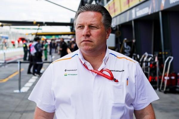 Jelang GP Inggris, CEO McLaren Zak Brown Terpapar Covid-19