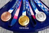 Medali Olimpiade Tokyo 2020. Foto: sindonews