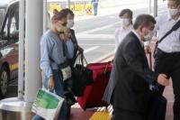 Pelari cepat Belarusia, Krystsina Tsimanouskaya meninggalkan Tokyo (foto: UPi)