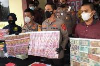 Polres Bogor Sita Rp1,5 Miliar Uang Palsu dari Dukun Pengganda Uang