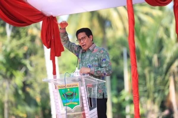 Kunjungi Padang Pariaman, Mendes PDTT Beberkan Konsep Pemulihan Ekonomi Desa