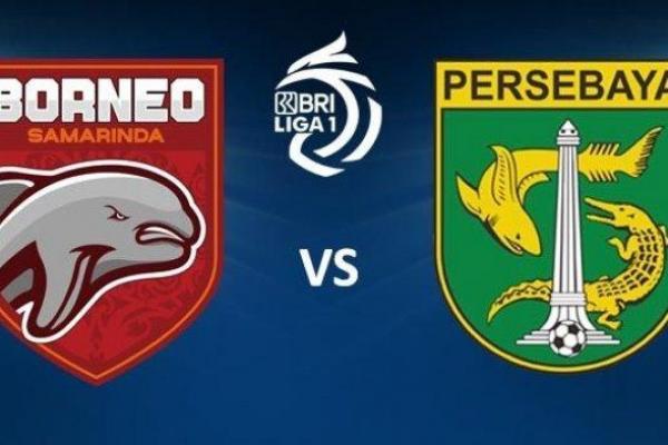 Borneo FC Vs Persebaya. Foto: tribunnews