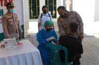 Ribuan warga Serbu Gerai Vaksinasi Polres Kupang Kota-Staf Khusus Presiden RI