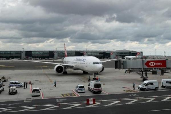 357 penumpang, dievakuasi dari ibu kota Afghanistan, Kabul, tiba di Istanbul, pada 22 Agustus 2021 di Istanbul, Turki. [İsa Terli - Anadolu Agency]