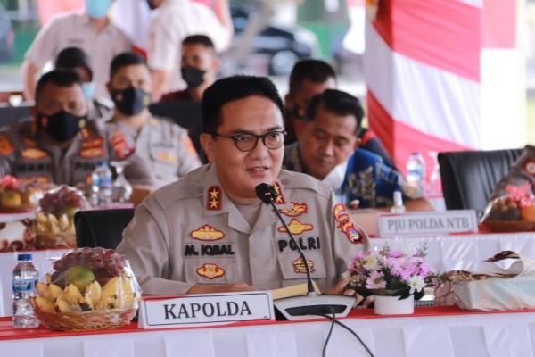 Komisi III Apresiasi Langkah Kapolda NTB Atasi Pandemi