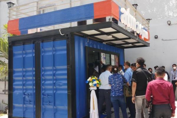 Luncurkan Smart Branch dan ATM Kontainer, Bank NTT Bikin Bangga Walkot Kupang