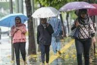 BMKG : Mayoritas Wilayah Indonesia Alami Hujan Ringan