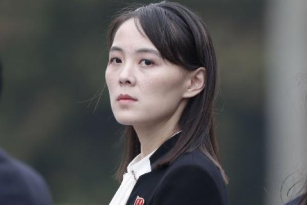 Kim Yo Jong, saudara perempuan pemimpin Korea UtaraKim Jong Un. (Foto: The Korea Herald)