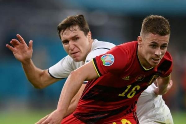 Striker Belgia T. Hazard akan Absen Karena Cidera Jelang Semifinal Melawan Prancis