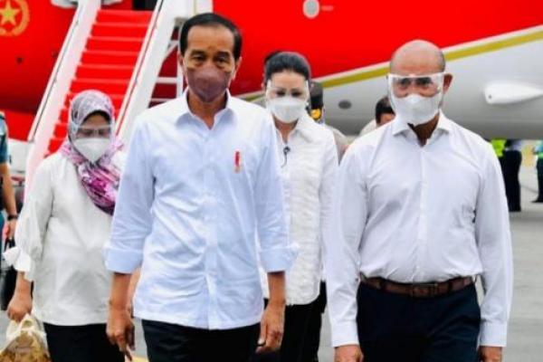 Presiden Jokowi Resmikan Pelabuhan Multipurpose Wae Kelambu di Labuan Bajo