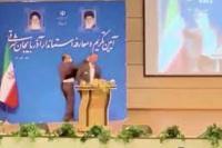 Tentara Menampar Gubernur Baru di Iran Saat Pelantikan