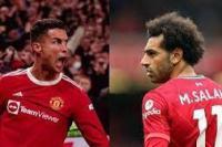 Liverpool vs Manchester United. (Foto: tribunnews.com)