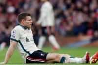 Gelandang Liverpool James Milner akan Absen Setelah Cidera Hamstring